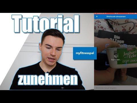 MyFitnessPal Tutorial | App zum ZUNEHMEN | ANLEITUNG