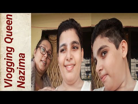 Home Haircut Vlog in lockdown| Vlogging Queen Nazima