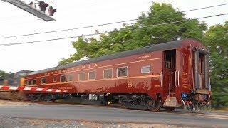 CSX Mixed Freight Train Hauls The Catalpa Falls Pullman Car