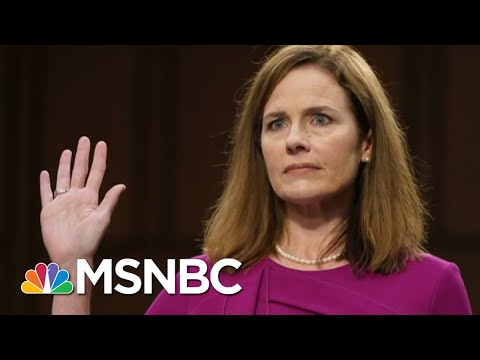 Both Parties On Message At Confirmation Hearings | Way Too Early | MSNBC