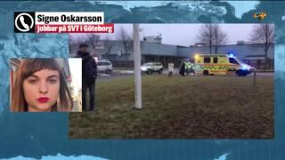 SVT-huset utryms – har fått paket med pulver