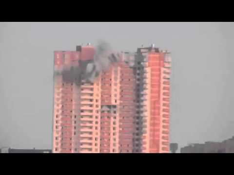 28 07 14 Луганск Бомбежка жилого дома