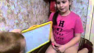 Видео урок английского языка для детей 4-6 лет#1