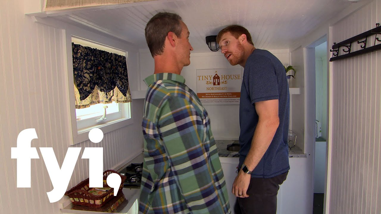 tiny house nation: can a tall man live tiny? | fyi - youtube