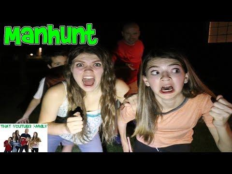 MANHUNT AT NIGHT! / That YouTub3 Family