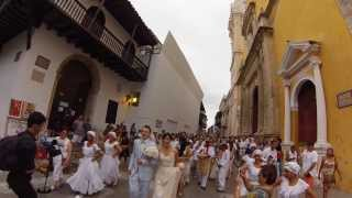 Cartagena Weddings - Downtown Procession | Cartagena de Indias, Colombia