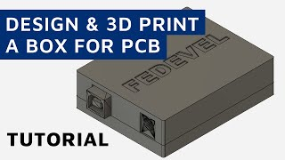 How To Build Your Own Box For A PCB Board Using Free Fusion 360 Software - Step By Step Tutorial