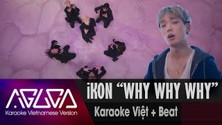 [Karaoke Việt + Inst.] WHY WHY WHY - iKON