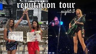 REPUTATION TOUR METLIFE NIGHT 3 ♡ TAYLOR SWIFT CONCERT VLOG (FLOOR SEATS)