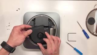 Late 2018 Mac Mini Teardown & Ram Upgrade + Re-assembly