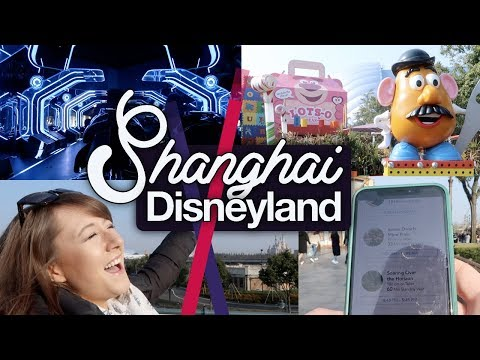 Shanghai Disneyland #3! Tips Tips Tips, Tron and Toy Story!