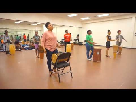 Summer Arts at the Center: African Drumming, African Dance, Modern Dance and Capoeira