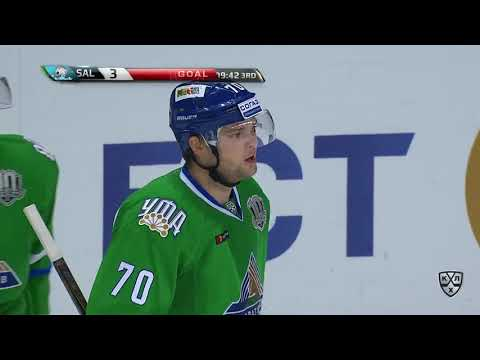 Barys 5 Salavat Yulaev 3, 5 September 2017 Highlights