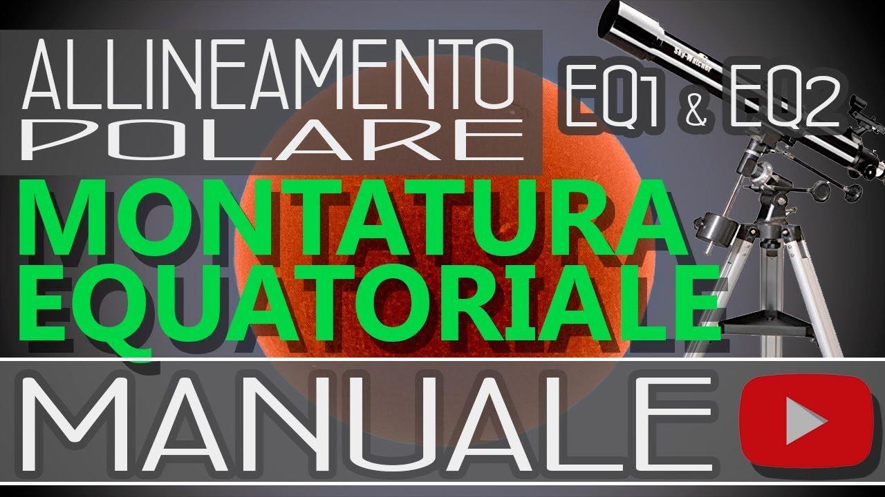 Saldi 2019 bene qualità eccellente Allineamento polare per montature equatoriali manuali tipo EQ1 ed EQ2