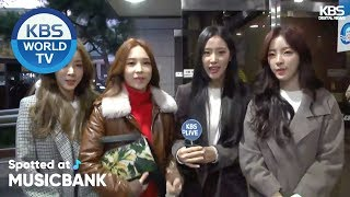 [Spotted at Music Bank] 뮤직뱅크 출근길 - WJSN, APRIL, S#aFLA [2018.10.26]