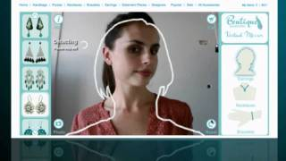 Virtual Mirror | Try on Jewellery with your webcam at Boutique Accessories Thumbnail