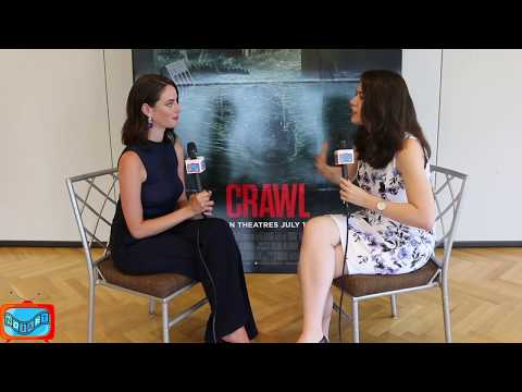 Kaya Scodelario On Crawl | NOIAFT Exclusive Interview