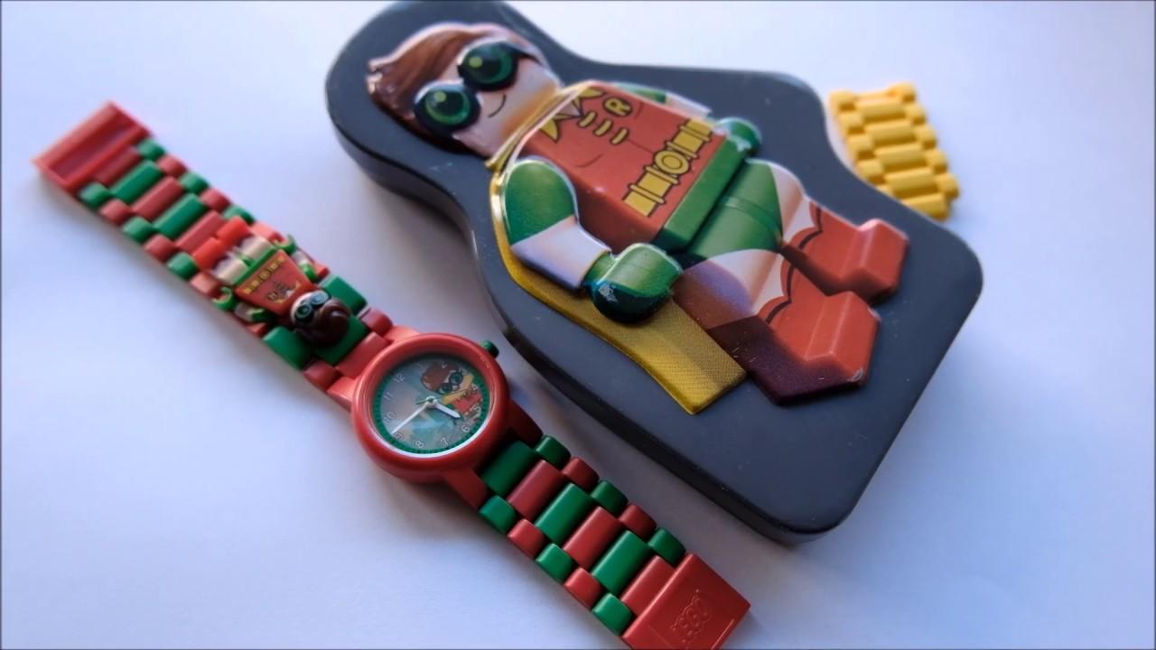 Lego Batman Movie Robin Kids Watch - YouTube