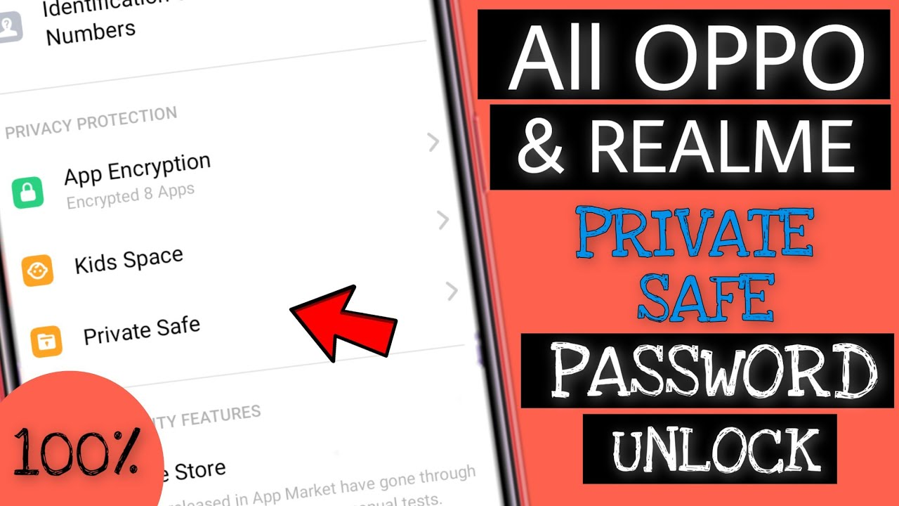 All Oppo And Realme Private Safe Password Reset 100% | Faisal Alam Official