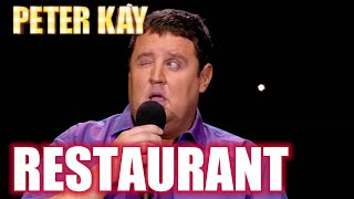 Complaining In A Restaurant | Peter Kay: The Tour That Didn't Tour Tour