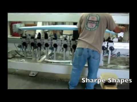 KKL Surfboard Shaping Machine