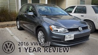 1 Year Review! VW Golf 2016