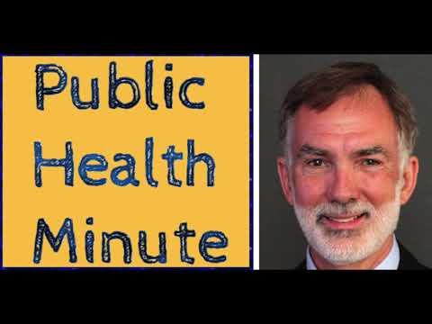 Public Health Minute with Dr. William Latimer: Dr. Thomas Clasen