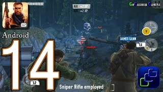 Brothers In Arms 3: Sons of War Android Walkthrough - Part 14 - Chapter 4: Raid