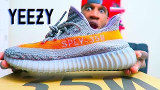 huge discount b6f5f dad5e NEW YEEZY BOOST 350 V2 UNBOXING