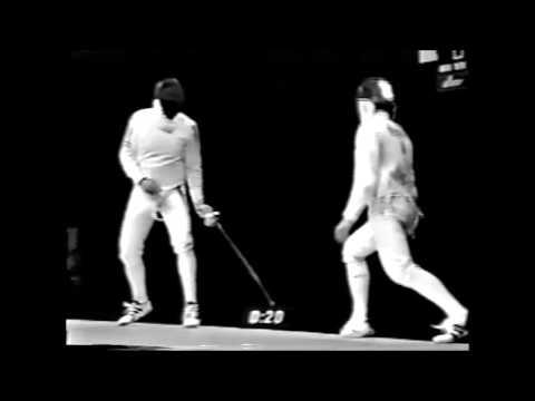 Men's Epee 1997 World Championships final - Srecki vs Kolobkov