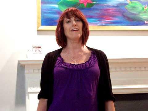 Donna Marie Haeberle Singing Silent Night.MOV