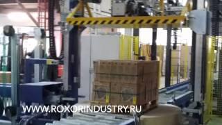 Горизонтальная обвязка продукции.Обвязочная машина H40U-C (Strapex).(, 2014-07-04T06:45:43.000Z)