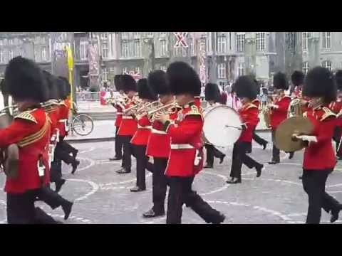 Music band of scots guards Liège 2014 2