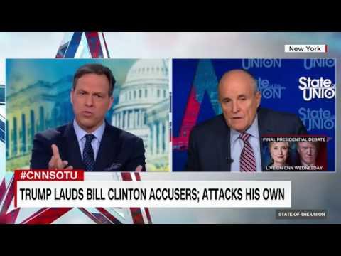 Full interview  Fmr  New York Mayor Rudy Giuliani