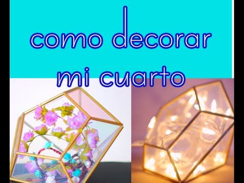 Como decorar mi cuarto yo misma juvenil youtube for Como decorar tu habitacion juvenil