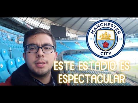 Conocí el estadio del Manchester City