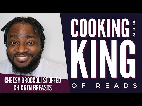 Cheesy Broccoli Stuffed Chicken | Cooking with King of Reads