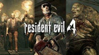 RESIDENT EVIL 4 #8 - zombies e mulheres da motoserra e el gigante (PC Pro Gameplay em Inglês)