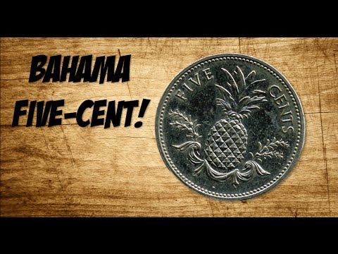 BAHAMAS FIVE-CENT! -Coin Roll Hunting-
