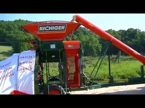 Richiger R950MX Roller Mill Grain Bagger