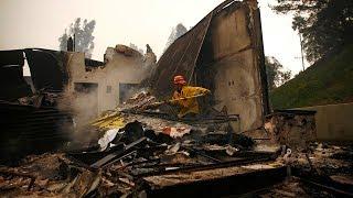 California wildfires bring devastation as death toll increases