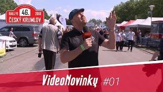 46. Rallye Český Krumlov 2018 - rozhovory před startem