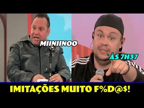 ROBSON BAILARINO E MORGADO FIZERAM TODO MUNDO RIR COM SUAS IMITAÇÕES!   Ep. 214