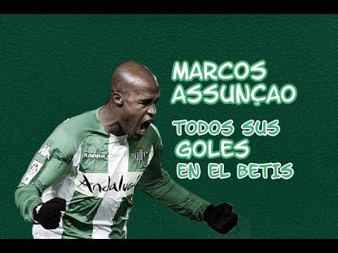 Marcos Assunçao - Todos sus goles en el Betis