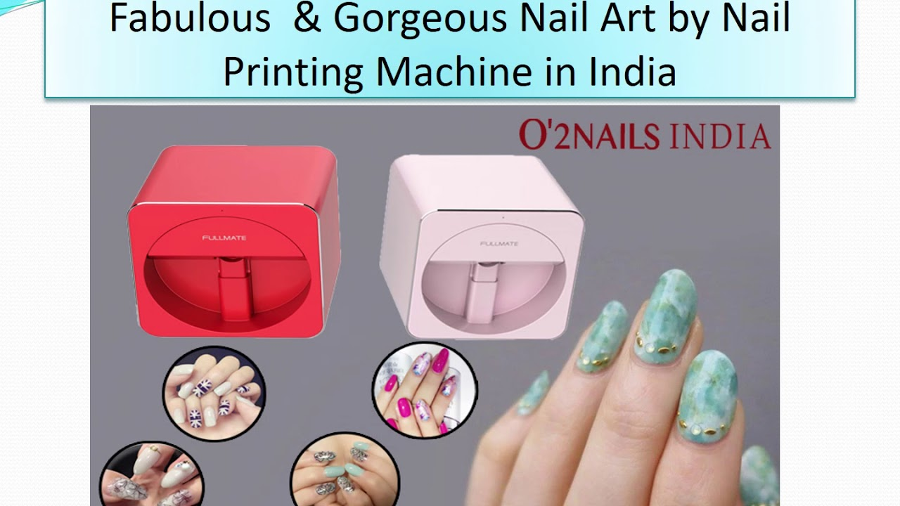 Nail Polish Printer Machine In India | Hession Hairdressing
