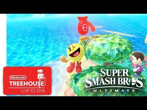 Super Smash Bros. Ultimate Gameplay Pt. 8 - Nintendo Treehouse: Live | E3 2018 thumbnail