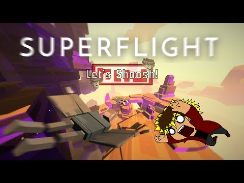 Let's Shoosh! Super Flight! [German] Birdman Modus das Spiel!