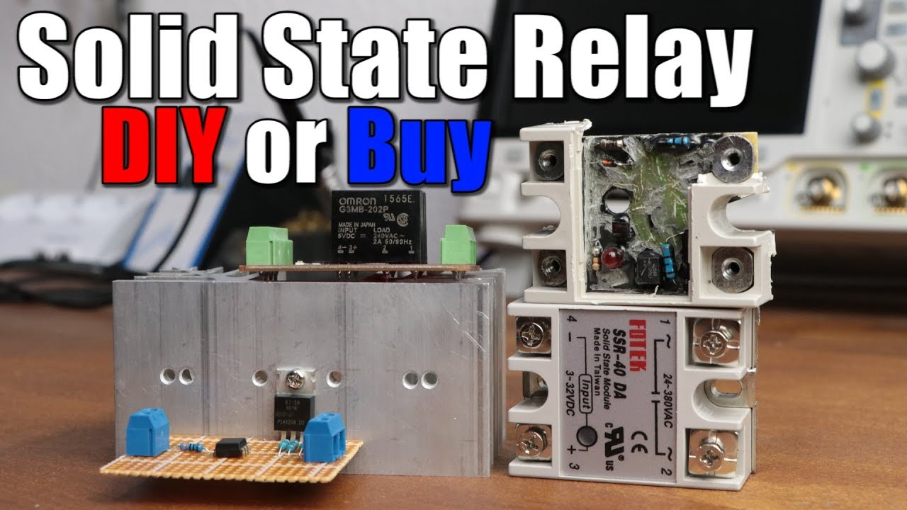 Solid State Relay Diy Or Buy Youtube 220v Ac