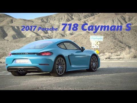Porsche 718 Cayman S 2017 TOUR - Engine SOUND - DRIVING EXPERIENCE!!