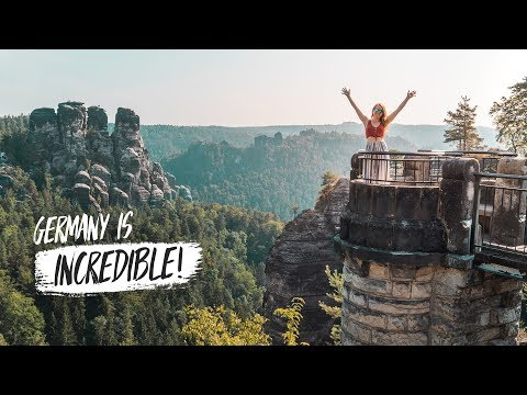 THIS EXISTS IN GERMANY?! - Exploring The Bastei Castle & Königstein Fortress (Road Trip Part 2)